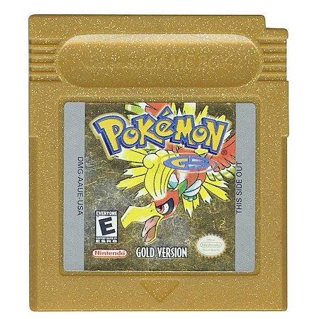 Jogo Nintendo Game Boy Pokemon Gold - Nintendo