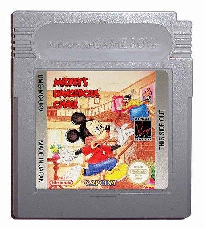Jogo Game Boy Mickey's Dangerous Chase - Disney