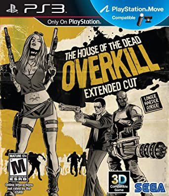 Jogo PS3 The House Of The Dead Overkill: Extend Cut - Sega