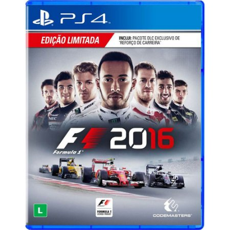 Jogo PS4 F1 2016 - Codemasters