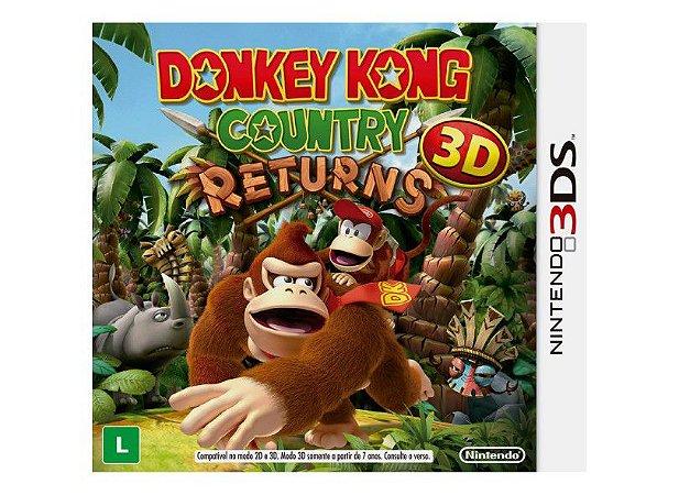 Jogo Nintendo 3DS Donkey Kong Country Returns - Nintendo