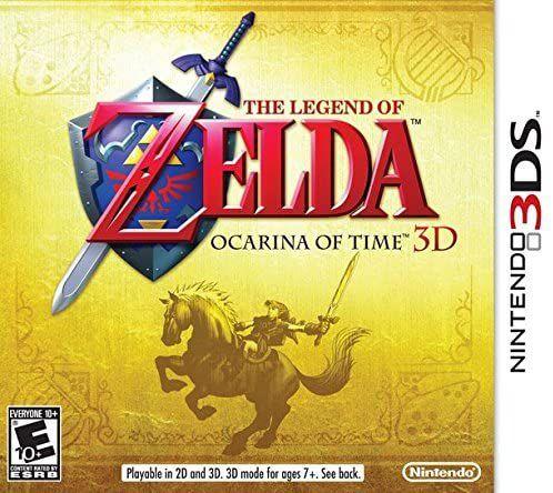 Jogo Nintendo 3DS The Legend of Zelda Ocarina of Time 3D - Nintendo