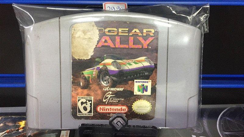 Jogo Nintendo 64 Top Gear Rally - Midway