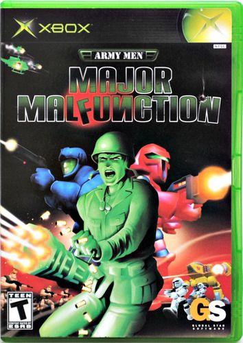 Jogo Xbox Classico Army Men Major Malfunction - GS Software
