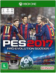 Jogo Xbox One PES 2017 Pro Evolution Soccer - Konami