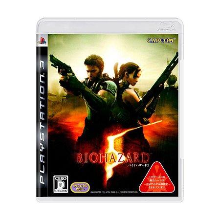 Jogo PS3 Biohazard 5 - Japonês - Capcom