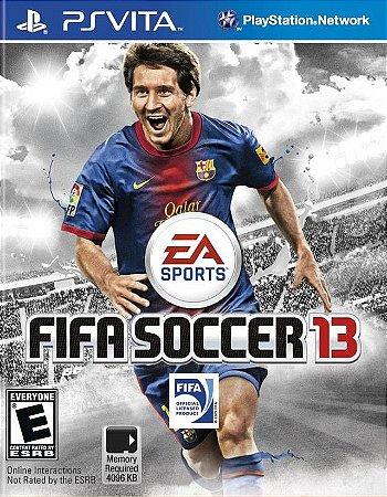 Jogo PS Vita Fifa 13 Soccer 2013 - EA Sports