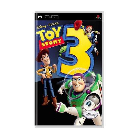 Jogo PSP Toy Story 3 - Disney