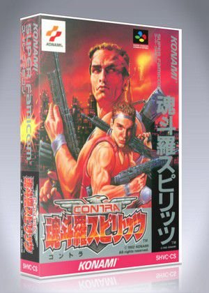 Jogo Super Famicom Contra III Spirits (The Alien Wars) SHVC-CS - Na Caixa - Konami