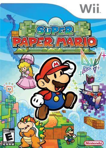 Jogo Nintendo Wii Super Paper Mario - Nintendo