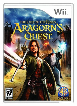 Jogo Nintendo Wii The Lord Of The Rings Aragorn's Quest - WB Games