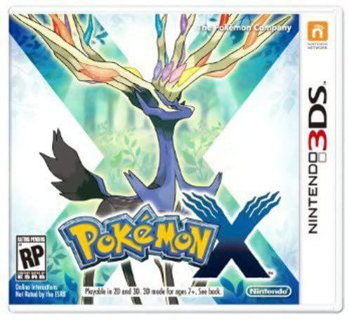 Usado Jogo Nintendo 3DS Pokemon X - Nintendo