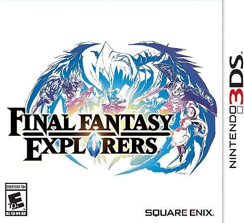 Jogo Nintendo 3DS Final Fantasy Explorers - Nintendo