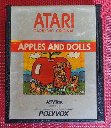Usado Jogo Atari 2600 Apples And Dolls - Polyvox