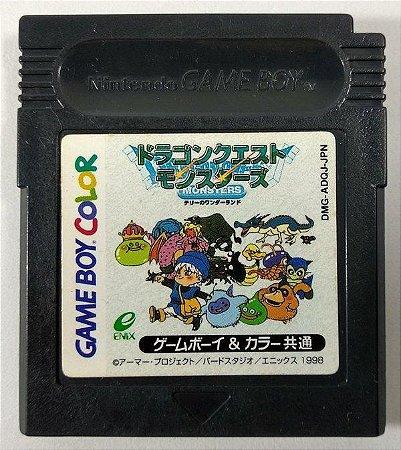 Usado Jogo GameBoy Dragon Quest Monsters Terry No Wonderland DMG-ADQJ-JPN | Japonês - Nintendo