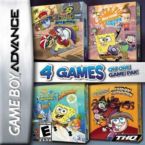 Usado Jogo Game Boy Advance Nickelodeon Vol. 1 4-Pack