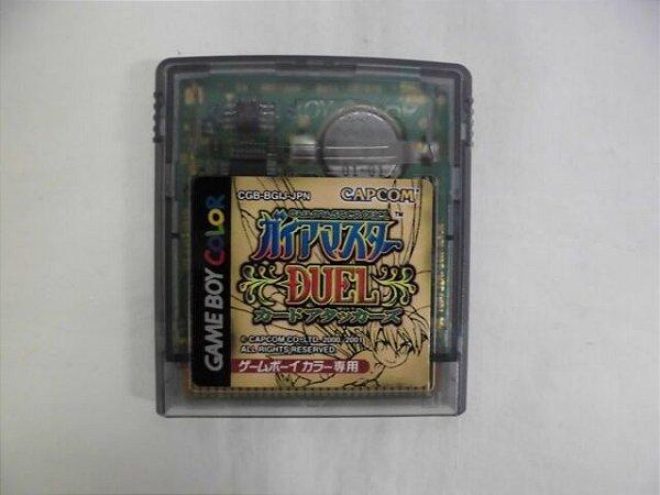 Jogo Game Boy Color Gaia Master Duel Card Attacks - Capcom