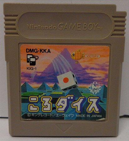 Usado Jogo Game Boy Color Koro Dice DMG-KKA Japonês | Somente o Jogo - King