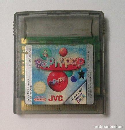 Jogo Game Boy Color Pop n' Pop Europeu | Somente o Jogo - Nintendo