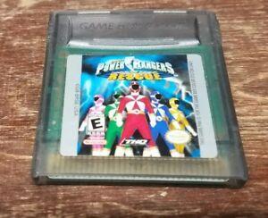 Jogo Game Boy Color Power Rangers Lightspeed Rescue | Somente o Jogo - THQ