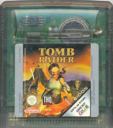 Jogo Game Boy Color Tomb Raider Starring Lara Croft | Somente Jogo - Eidos
