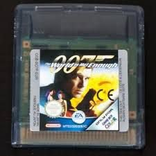USADO JOGO GAME BOY JAMES BOND 007 - EA