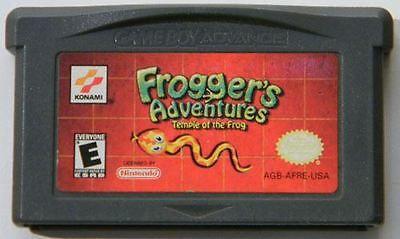 Jogo Nintendo Game Boy Advance Frogger's Adventures Temple Of The Frog | Somente o Jogo - Konami