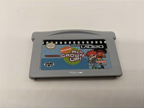Jogo Nintendo Game Boy Advance Nickelodeon  All Grown UP! Volume 1 | Somente o Jogo - Nintendo