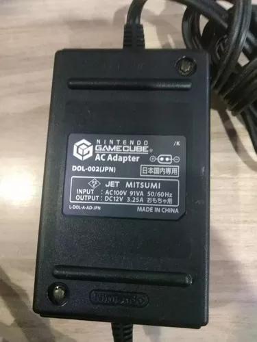 Usado Acessório Nintendo GameCube Fonte AC Adapter de alimentação 120V - Nintendo