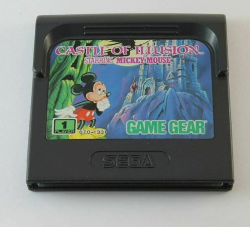 Jogo Game Gear Castle of Ilusion - TecToy
