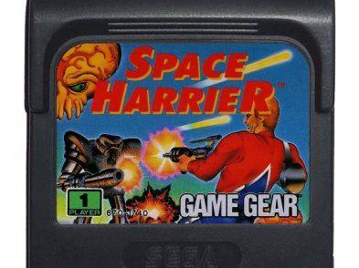 Usado Jogo Game Gear Space Harrier | Somente Jogo - Sega