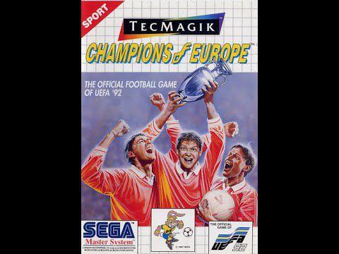 Usado Jogo Master System Champions of Europe (Na Caixa) - Sega