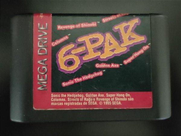 Usado Jogo Mega Drive 6-Pak - Somente Jogo - Sega