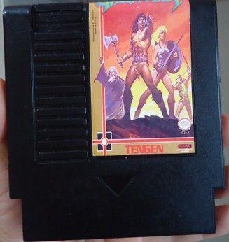 Usado Jogo NES Nintendinho Famicom Gauntlet | Somente o Jogo - Gradiente