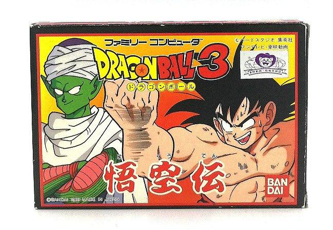 Usado Jogo Nintendo NES Nintendinho Famicom Dragon Ball 3 Gokuden Japonês | Na Caixa - Nintendo