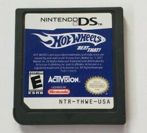 Usado Jogo Nintendo DS Hot Wheels Beat That | Somente o Jogo - Activision