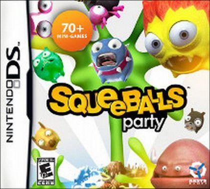 Usado Jogo Nintendo DS Squeeballs Party - AKSYS