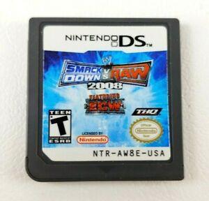 Usado Jogo Nintendo DS WWE SmackDown vs Raw 2008 | Somente o Jogo - THQ