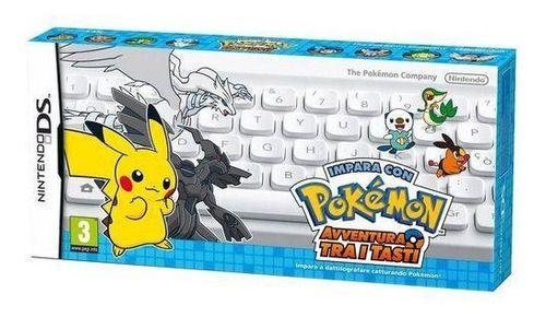 Jogo Nintendo DS Aprende con Pokémon: Aventura Entre Las Teclas c/ Teclado | Espanhol - Nintendo