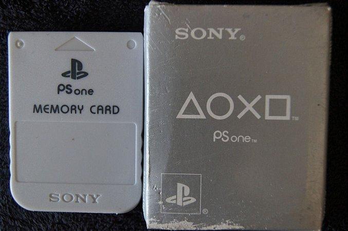 Usado Acessório Memory Card PSOne Na Caixa - Sony