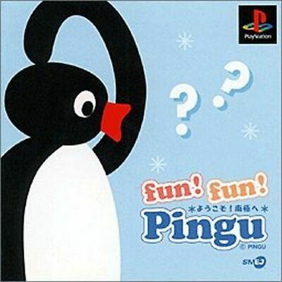 USADO JOGO PS1 FUN FUN PINGU SLPS-02307 JPN - SONY