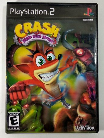 Usado Jogo Ps2 Crash Mind Over Mutant - Activion