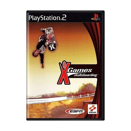 Usado Jogo PS2 ESPN X Games Skateboarding - Konami
