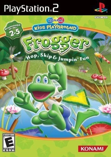 Usado Jogo Ps2 Frogger Hop, Skip e Jumpin'Fun - Konami