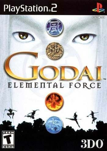 Usado Jogo PS2 Godai: Elemental Force - 3DO
