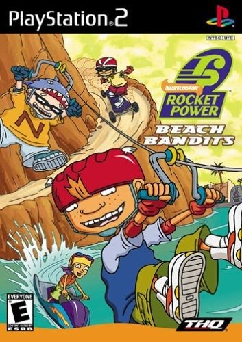 Usado Jogo Ps2 Rocket Power Beach Bandits - THQ