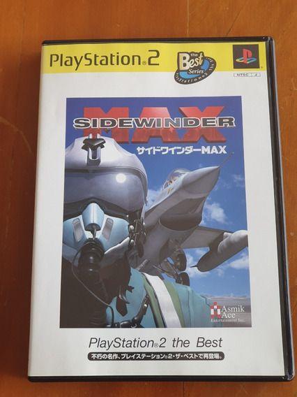 Jogo PS2 Sidewinder Max   Japonês - Asmik Ace Entertainment