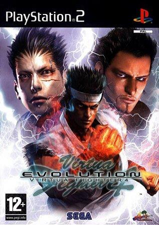 Usado Jogo PS2 Virtua Fighter 4 Evolution SLPM 65270 | Japonês - Sega