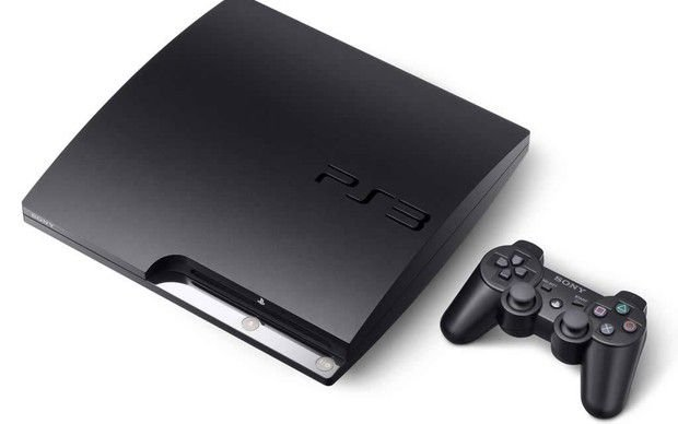 Usado Console PS3  Slim 120 GB c/ um controle - Sony
