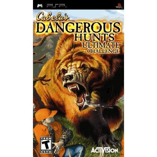 Jogo PSP Cabela's Dangerous Hunts Ultimate Challenge - Activision